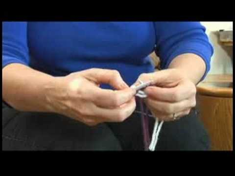 How to Knit a Sweater : Knitting a Sweater: Changing Needles