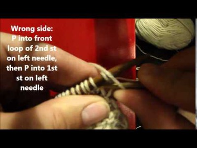 How To Knit Basket Weave Stitch
