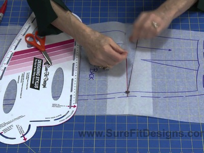 How to: Large Buttocks Alteration for Skirts