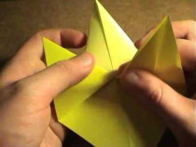 How to make an origami Butterfly fish - Come fare un Butterfly fish origami