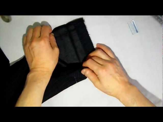 How to shorten sleeves for man Jacket Part1