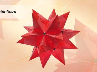 Ideen mit Herz - Origami-Stern - Bascetta-Stern