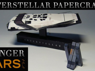 Interstellar Papercraft - Ranger and TARS (Stop-motion assembly)