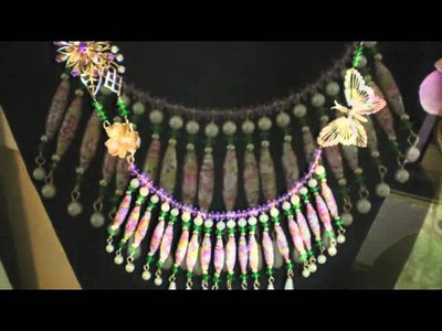 """Lissi's Creations """"Paper Beads"""" Jewelry"""