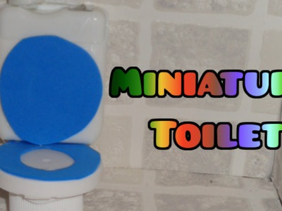 LPS Crafts - How to Make a LPS Toilet