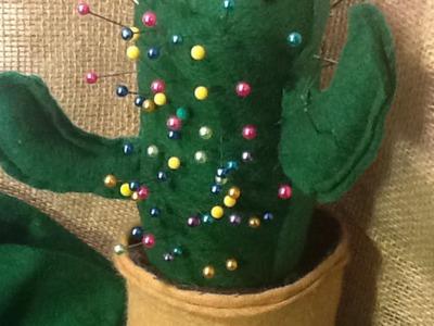 Make a Fun Cactus Pin Cushion - DIY Crafts - Guidecentral