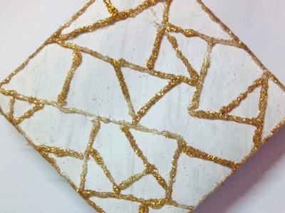 Make Cardboard Box Wall Art - DIY Crafts - Guidecentral