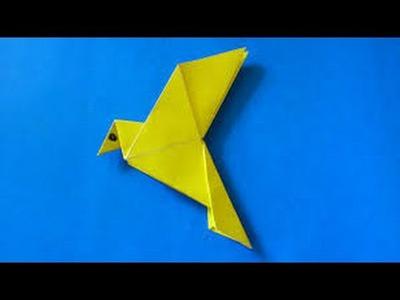 Origami Animals | How To Make Origami Birds Honey Suckers | Origami Paper