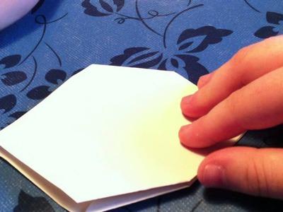 Origami Schachtel mit Sternenmuster. Star Box - eine Anleitung