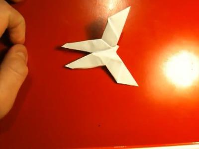 Origami Schmetterling falten - Faltanleitung