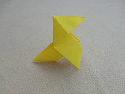Papiroflexia: Pajarita de papel - Origami easy bird