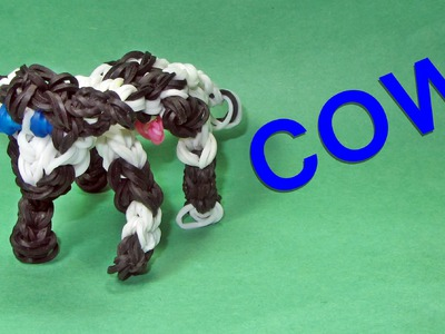Rainbow Loom Charms: COW: How to Design (DIY Mommy)