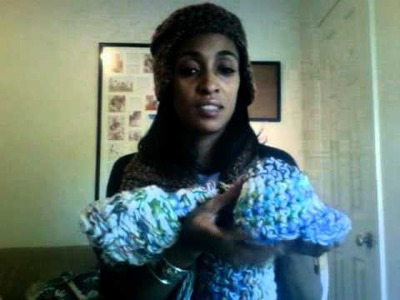 """Sassy Swag Designs Silk """"Doobies"""" and Crochet Pants.hat and scarves"""