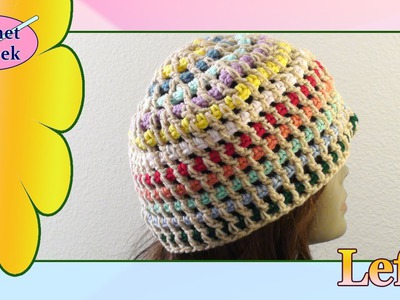 Streamer Crochet Hat - Left Hand Crochet Geek