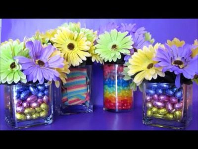 Sweet Flower Vases Centerpieces Arrangements  | DIY Crafts And Activities For Kids