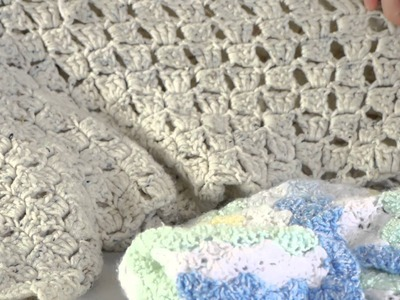 The Differences Between a Crocheted Afghan & Crocheted Blanket : Knitting & Jar Crafts