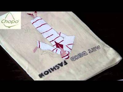 Tutorial para pintar una bolsa de tela DIY
