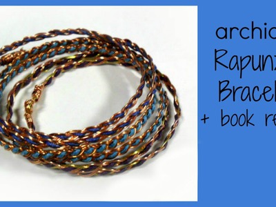 Tutorial | Tecnica Wire | DIY Rapunzel Bracelet | Book Review | Bead & Wire Art Jewelry