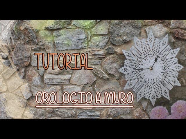 Tutorial Uncinetto Orologio a Muro (Crochet) 10