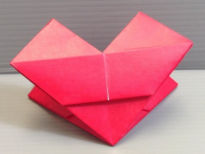 Valentine's Day Origami Heart - Make Your Own!