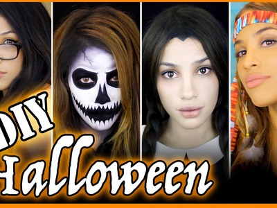 4 Last min DIY Halloween Costumes!