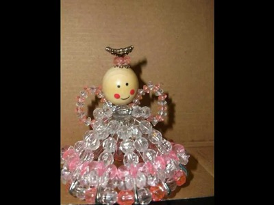 Angels hand made with beads