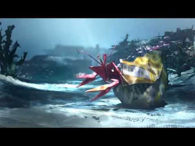 Banca Coop Campagna d'immagine in TV - Origami - Mondo sottomarino 25' - Autunno 2011
