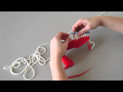 Chevron crochet tutorial