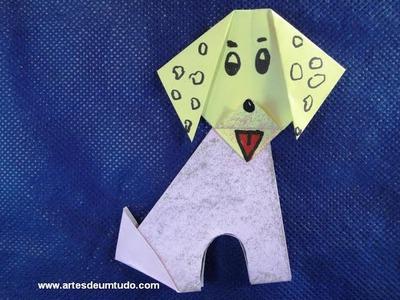 Como Fazer Origami Corpo de Bichos