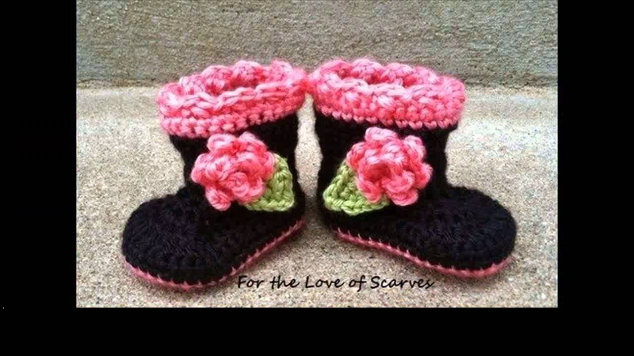 Crochet dog booties