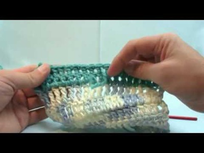 Curtzy.com - How to Crochet Lesson 7 - Color Changing.Cast Off with Michael Sellick