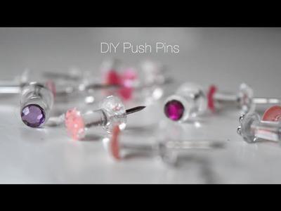 Decorative Push Pin DIY | Simple & Easy Tutorial