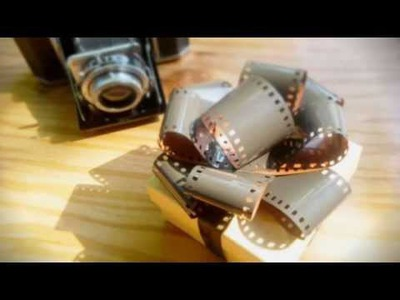 DIY Camera Film Gift Bow | Easy Tutorial