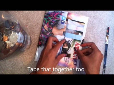 DIY Magazine Wallet