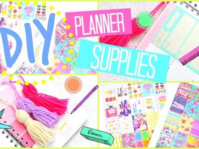 DIY Planner Stickers, Tassels & More!   #PrettyPlanning
