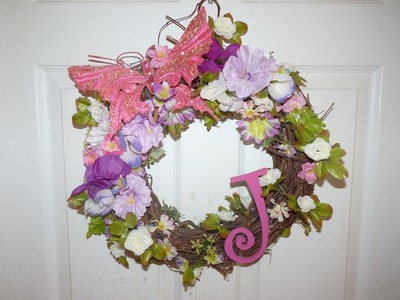 DIY: Spring Decor | Flower Wreath