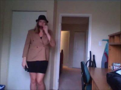 DIY Spy.detective costume