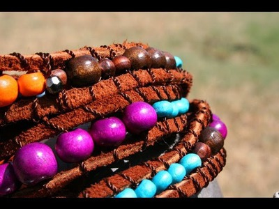 DIY Wrap Bracelet- Fashion Week Inspired by Whitney Sews