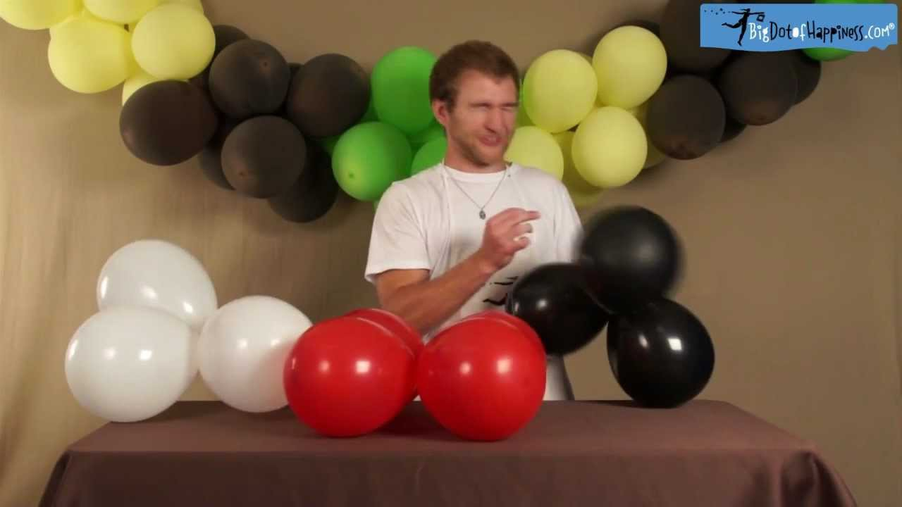 Do It Yourself Balloon Banner - Craft Time With Zach - Big Dot of Happiness