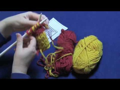 Double-Knitting, Part 3 of 3 -- Fixing Mistakes and Binding Off