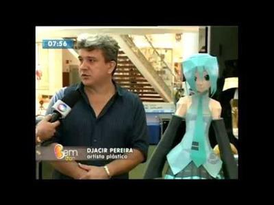 Entrevista sobre DJARTES PAPERCRAFT programa Bem Você Maceió dia 24 de abril 2015 Parque Shopping