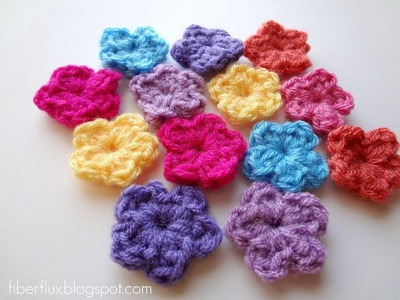 Episode 36: How to Crochet a One Round Flower