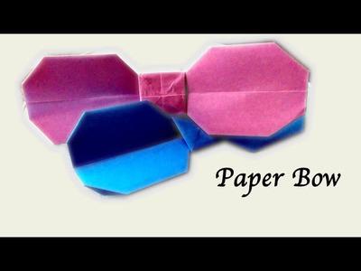 Hello Kitty Paper Bow - Origami Tutorial