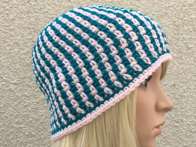 How to Crochet a Beanie Hat Pattern #21 │ by ThePatterfamily