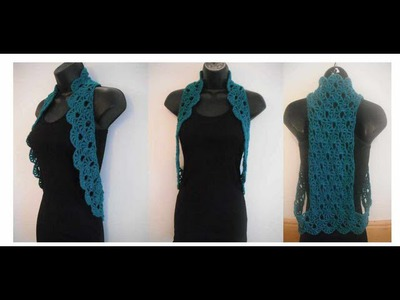 How to crochet vest shrug pattern tutorial for begginer