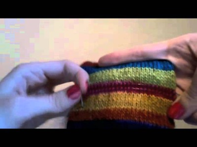 How to Knit Afterthought Heels