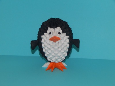 Origami How To Make 3d Origami Penguin Small How To Make 3d