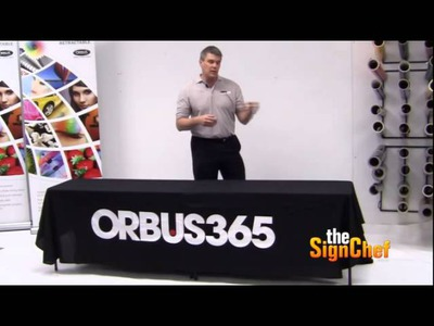 How to Make a Great Trade Show Booth - Table Covers