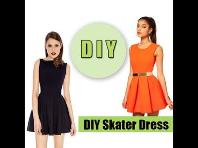 How to make a Skater Dress (easy)