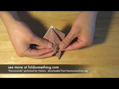 How to make an origami orchid